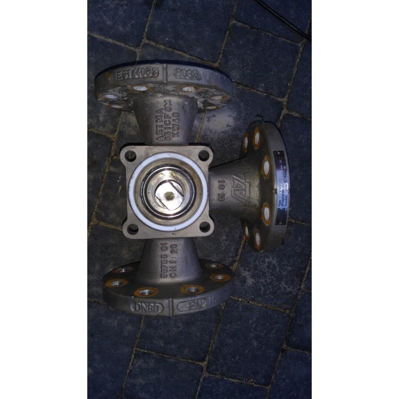 image: Zawór nierdzewny trojdrożny AZ  TYPE F-3-W-I50-STD
