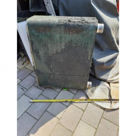 image: Wymiennik nierdzewny płytowy przemysłowy lutowany pompa ciepła