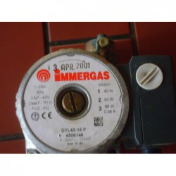 image: Pompa IMMERGAS DYL 43-15 P / Wilo RSL 15/5-x (15-50 AO 130)