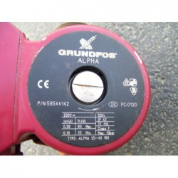 image: Pompa C.O. Grundfos Alpha 25-40 180 +GWARANCJA