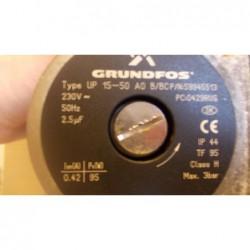 image: Silnik do pompy Grundfos UP 15-50 AO B/BC z kotła gazowego Beretta Ciao II 18/24i