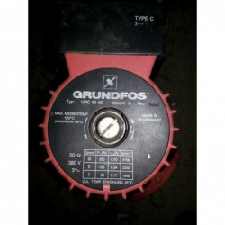 image: Pompa Grundfos UPC 40-60 Model:a DN40 PN6 (UPS40-60 /2F)