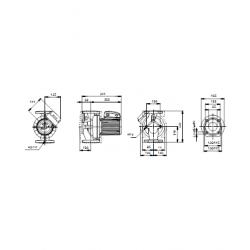 image: Pompa Obiegowa Grundfos UPC 40-120 400V (UPS / UPK)