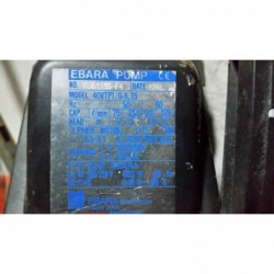 image: Pompa Ebara PUMP 40VTp1/9-6.75