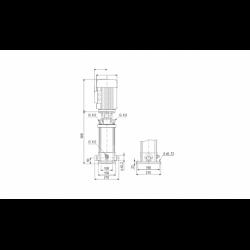image: Pompa Grundfos CRN 5-4 A-P-G-E-HUBE - 96449021