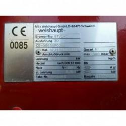 image: PALNIK GAZOWY Weishaupt G7/1-D  300-1750kW