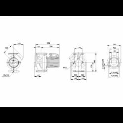 image: Pompa CWU Grundfos UPS 65-120 F B używana z gwarancją