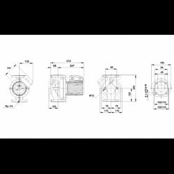 image: Pompa kołnierzowa Grundfos UPS 40-60/F B  230V