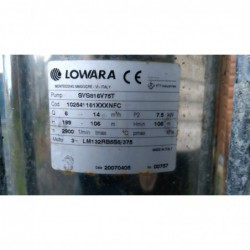 image: Pompa Lowara SVS816V75T 7,5kW