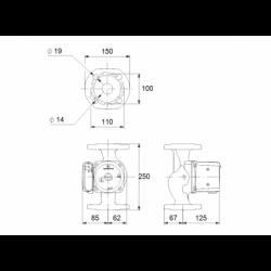 image: Pompa Obiegowa Grundfos UPS 40-50 F 250