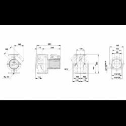 image: Pompa Grundfos UPS 50-180/F B w idealnym stanie