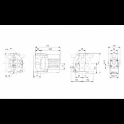 image: Pompa Obiegowa KSB Calio 40-120 - Grundfos Wilo 40/1-12