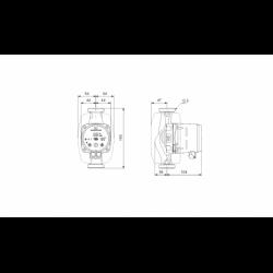image: Pompa C.O. KSB Calio  30-60 180mm Grundfos 32-60