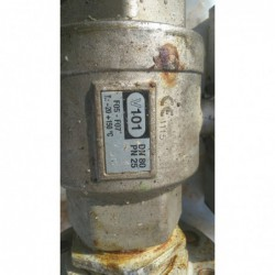 image: Zawór kulowy DN50 z siłownikiem pneumatycznym