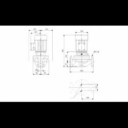image: Pompa Obiegowa Grundfos TP 40-30/4 A-F-A-BUBE - 96401883