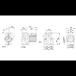 Pompa Obiegowa Grundfos LFP 50POs60A/B