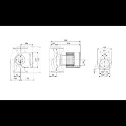 Pompa Obiegowa Grundfos MAGNA3 40-120 F