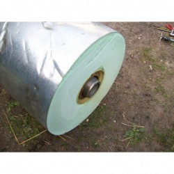 image: Bojler nierdzewny Viessmann 160L leżący z płaszczem wodnym oc