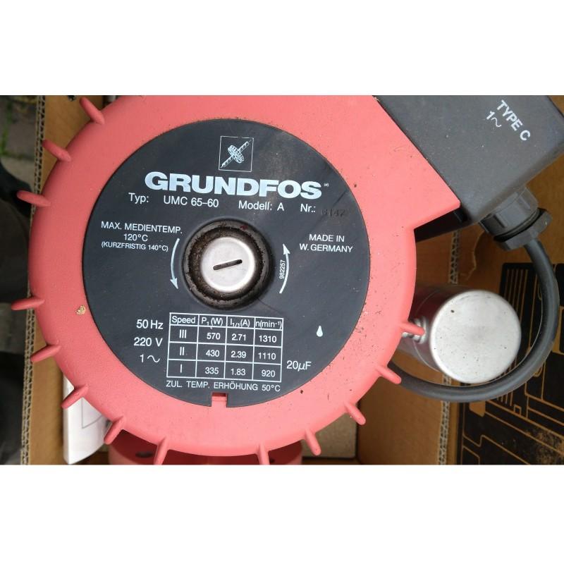 image: Pompa Obiegowa Grundfos UMC 65-60 NOWA 230V