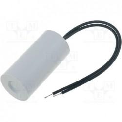 image: MIFLEX I150V580K-G1 Kondensator: do silników, pracy; 8uF; 450V; Ø30x78mm; -25÷70°C