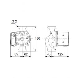 image: Pompa C.O. Grundfos UPS 32-80 180 używana  z Gwarancją