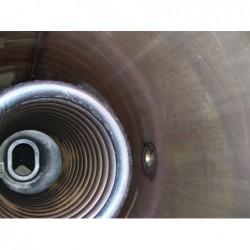 image: Bojler nierdzewny Viessmann 350L pionowy z wężownicą + gwaran