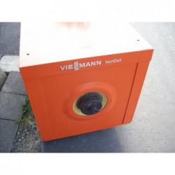 image: Bojler nierdzewny Viessmann 160L leżący z weżownicą ocieplon