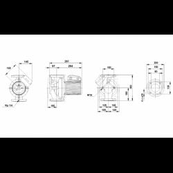 image: Pompa Grundfos UPC / UPS 80-120 F 3~400V