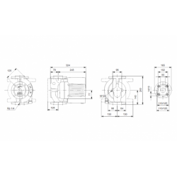 image: Pompa Grundfos UPE Magna 50-120 F