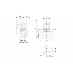image: Pompa Grundfos TP 32-180/2 A-F-A BUBE