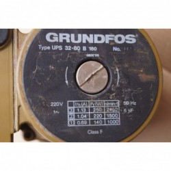 image: Pompa C.W.U. Grundfos UPS 32-80 B 180 używana z gwarancją