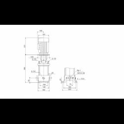 image: Pompa Grundfos cr 3-10 A-A-A-E-HQQE H 63m 3m3/h