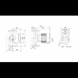 image: Pompa Obiegowa KSB Calio 80-80 - Grundfos Wilo 80/1-9
