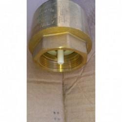 """image: Zawór zwrotny mosiężny 1 1/2"""" Jupiter Made in Italy"""