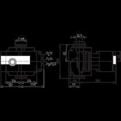 image: Pompa Obiegowa KSB Rio-Eco 25-60 PN 6/10 zamiennik Wilo Stratos 25/1-6