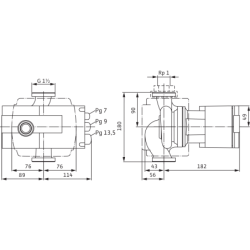 image: Pompa Obiegowa KSB Rio-Eco 25-100 PN 6/10 zamiennik Wilo Stratos 25/1-10