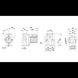 POMPA OBIEGOWA GRUNDFOS LFP 40POt60A/B 40-60/2F 400V