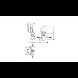 Pompa Obiegowa Grundfos TPE2 40-240 N-A-F-A-BQQE-HAC