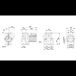 Pompa Obiegowa Grundfos LFP 32POu120A/B 230V Nowa UPS 32-120